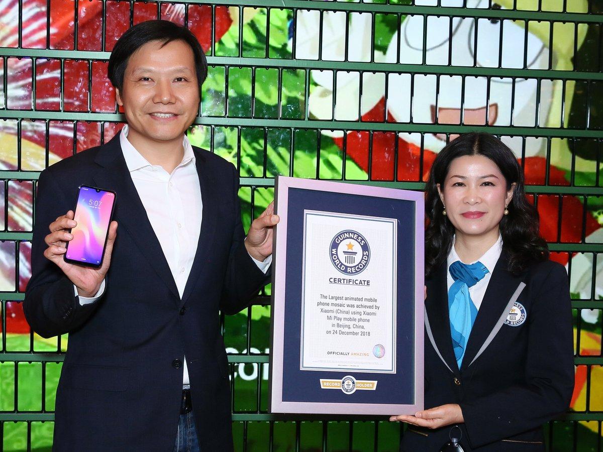 Xiaomi синхронизировала более 1000 смартфонов и попала в книгу рекордов...