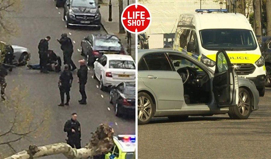 Протаранивший машину посла Украины громко слушал музыку перед нападением...
