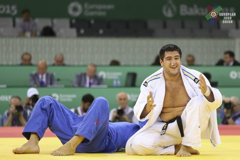 Украинский дзюдоист Хаммо на Олимпиаде стремительно одолел своего первог...