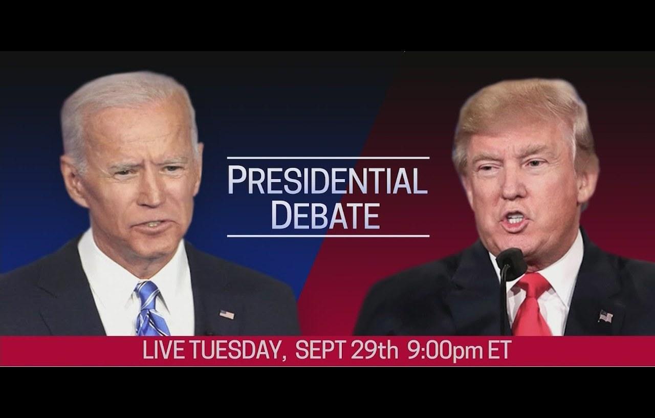 Трамп почти догнал по рейтингу Байдена в преддверии их первых дебатов –...