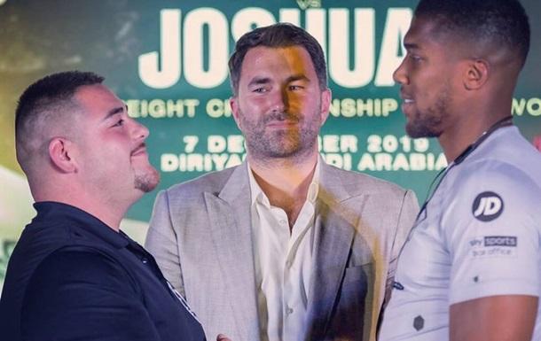 Джошуа и Руис провели дуэль взглядов перед реваншем