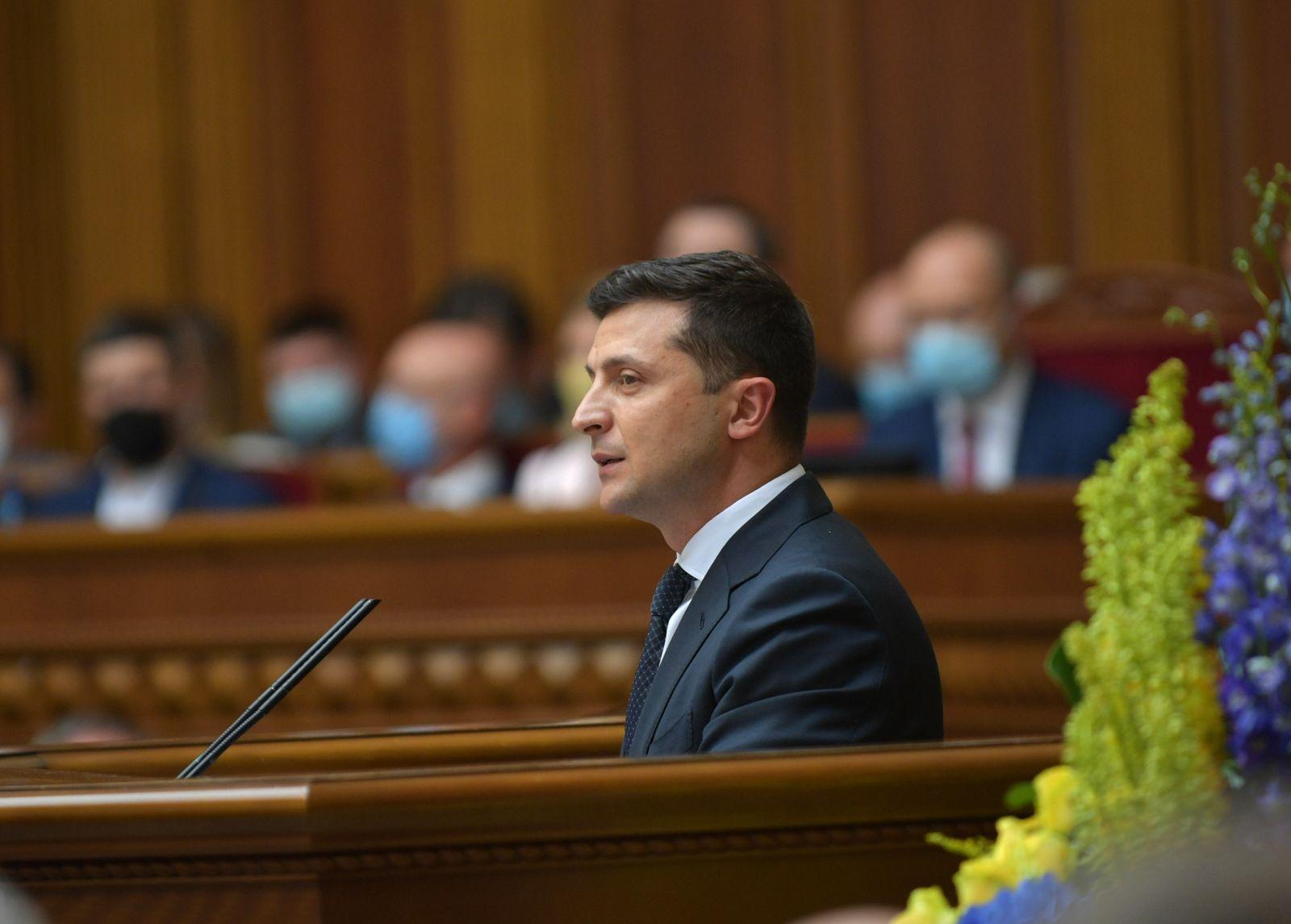 Зеленский 20 октября выступит с обращением к Раде, – Мендель