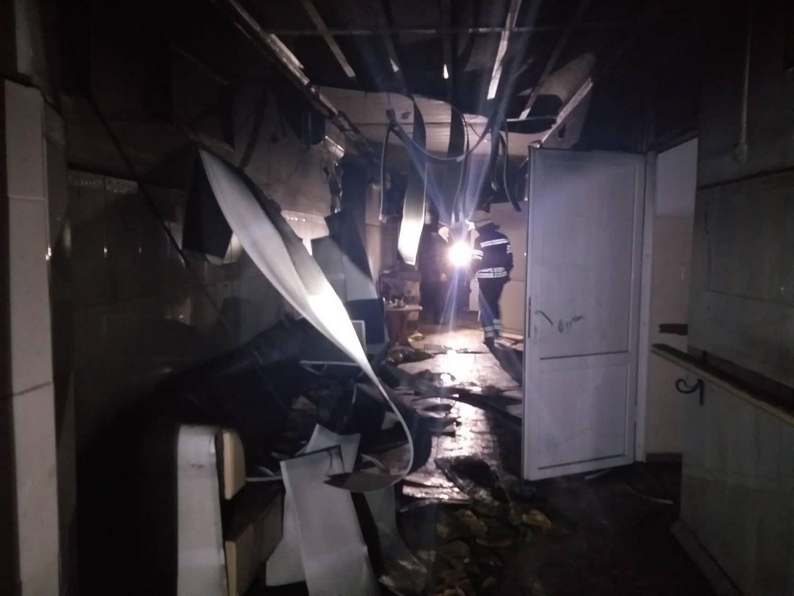 В Луганской области горел психоневрологический интернат: 4 погибших