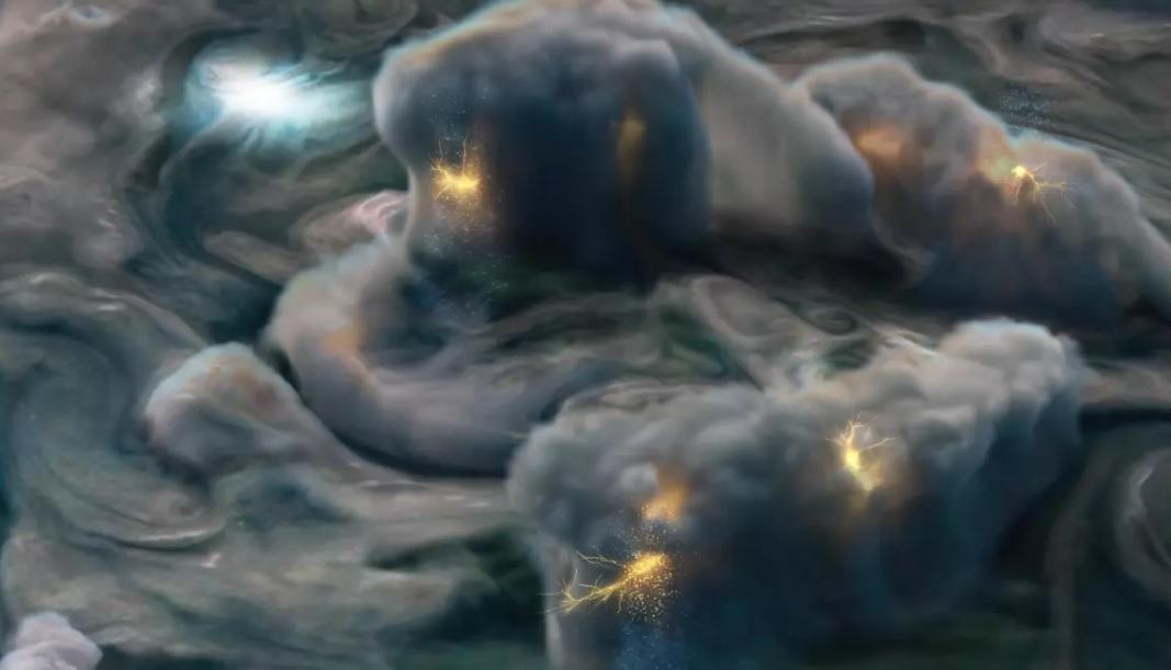 Ученые раскрыли главную тайну Юпитера с помощью молний и града