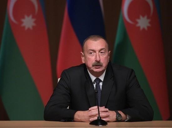 """ПТРК """"Корнет"""", """"Конкурс"""", ПЗРК """"Игла"""":Алиев заявил, что из РФ в Армению..."""