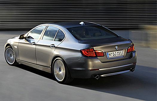 BMW представила новую «пятерку»