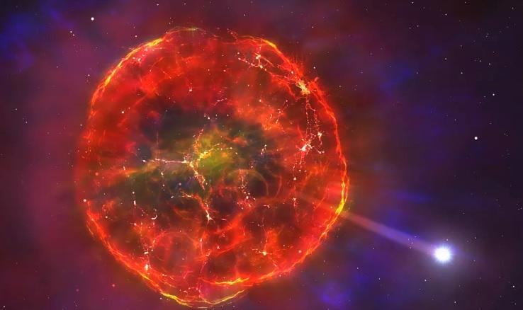 Ученые нашли звезду, пережившую взрыв сверхновой и бороздящую Млечный Пу...