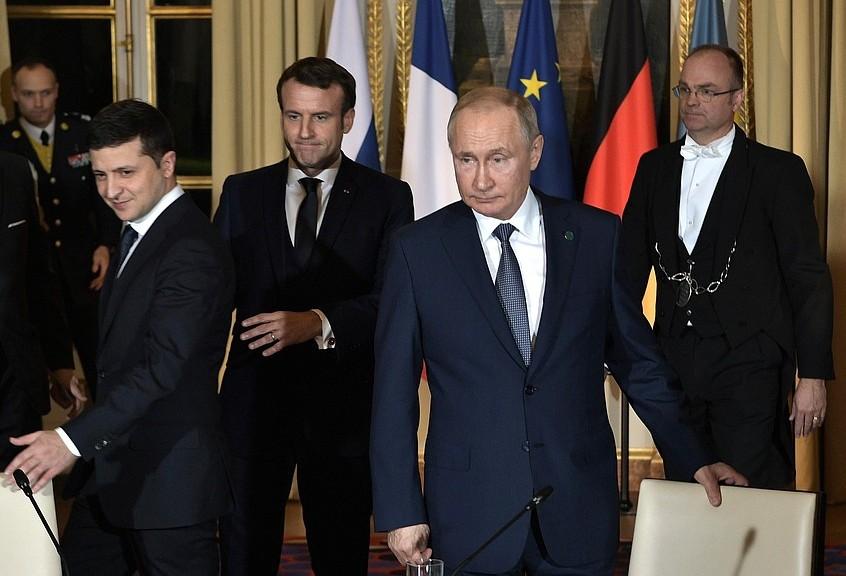 Нормандская оттепель. Иностранные СМИ — о результатах переговоров в Пари...