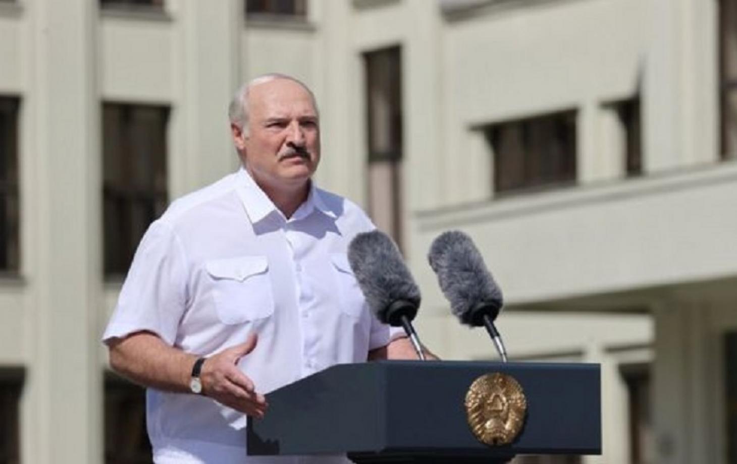 """""""Открытое вранье"""".  Лукашенко заявил, что иностранных военных в Беларуси..."""