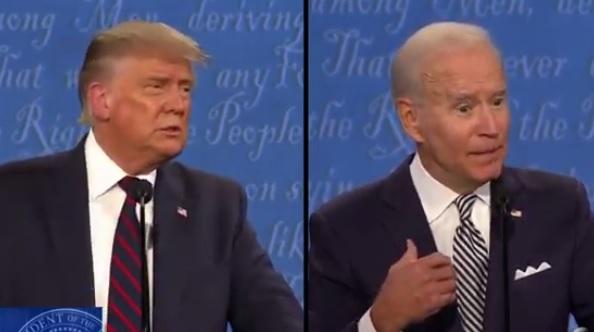 """Байден во время дебатов назвал Трампа """"клоуном"""" и """"щенком Путина"""""""