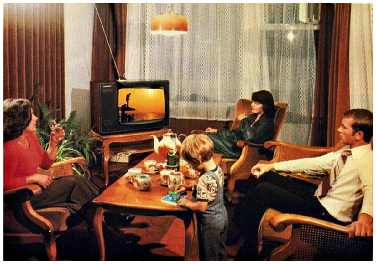 Герои домашнего экрана. Что смотрели по телевидению в советской Украине
