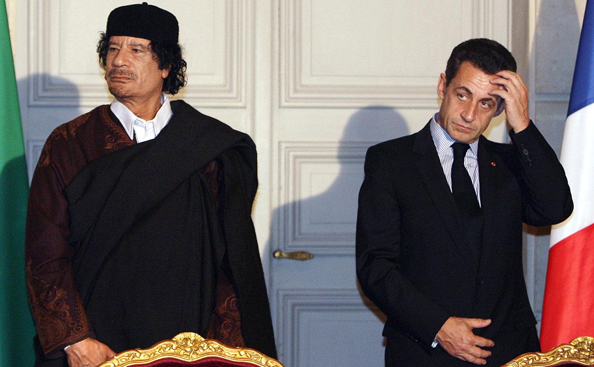 """Экс-президенту Франции Саркози предъявили обвинение в создании """"преступн..."""
