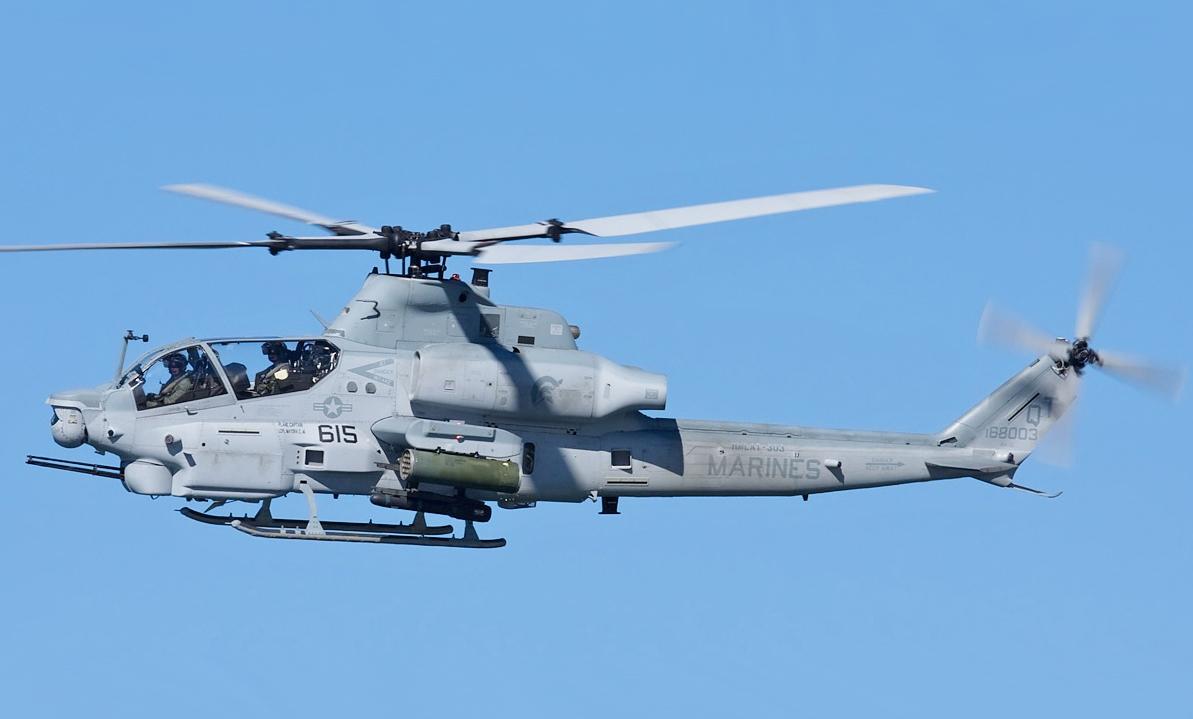 В США разбился вертолет ВМС: погибли двое пилотов