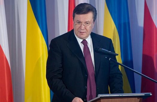 Янукович заявил, что нанес сокрушительный удар по коррупции