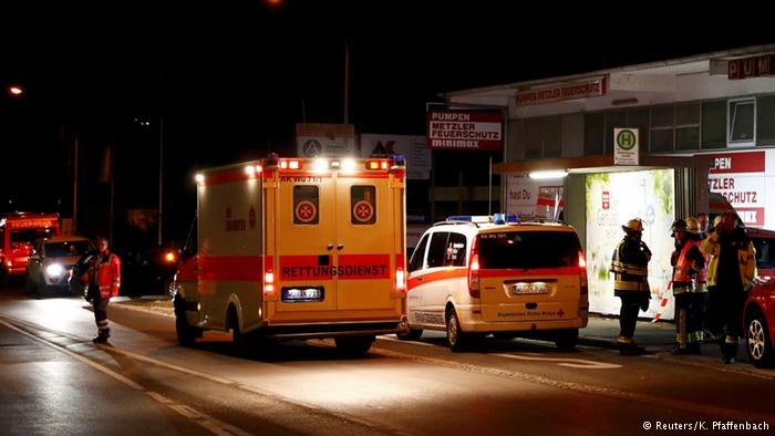 В Баварии 17-летний беженец с топором напал на пассажиров поезда