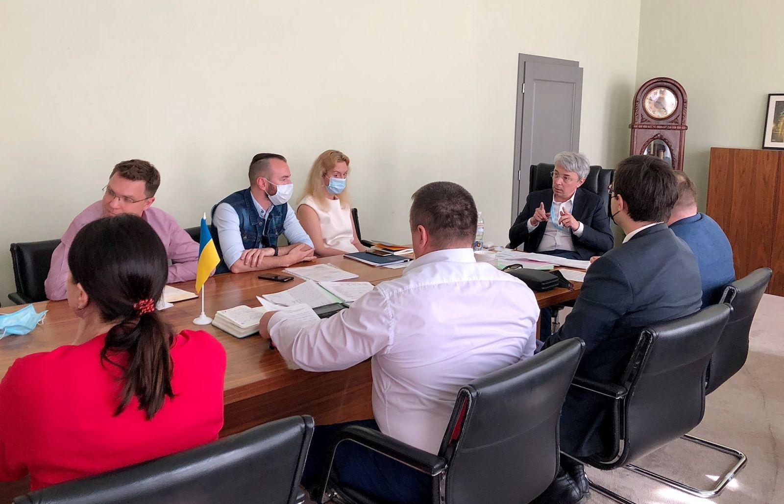 Ткаченко пообещал финансирование Довженко-Центру в полном объеме