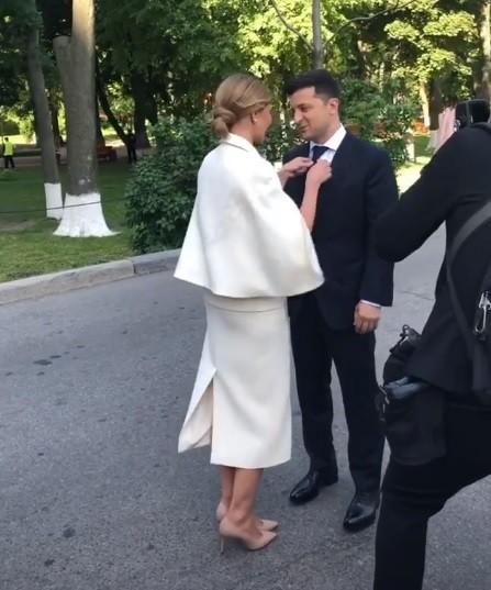 Елена и Владимир Зеленские, инаугурация президента Украины, первая леди, фото