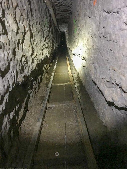 туннель контрабандистов на американской границе, фото