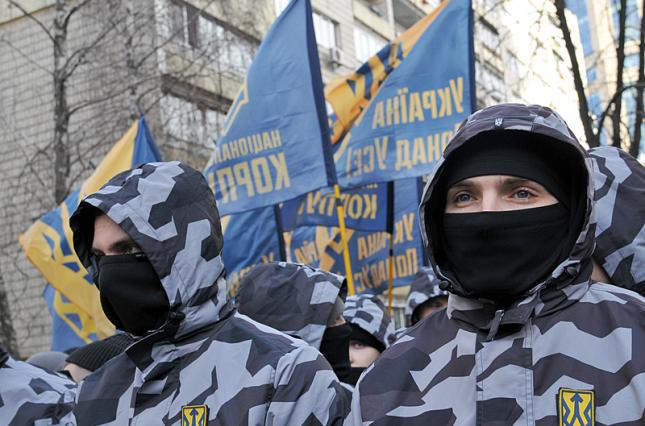 "Нацкорпус обратился в Минюст с требованием запрета ""ОПЗЖ"" и ""Партии Шари..."