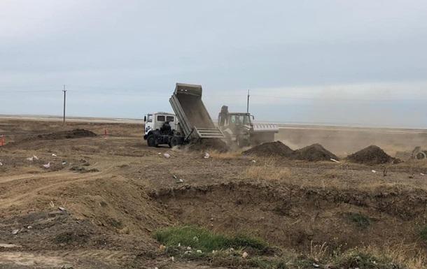 На админгранице с Крымом строят два новых КПВВ