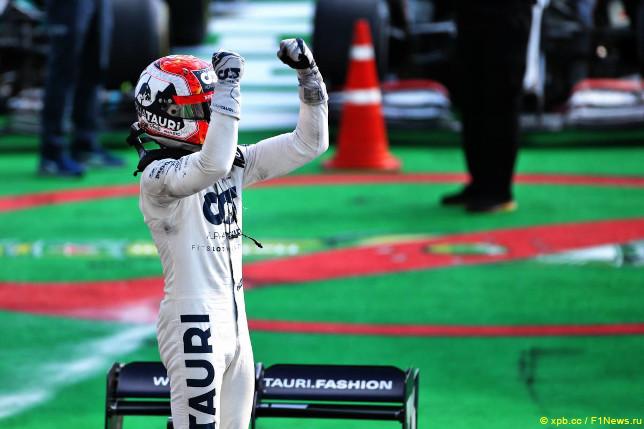 """На этапе """"Формулы-1"""" в Италии случилось несколько """"впервые"""""""