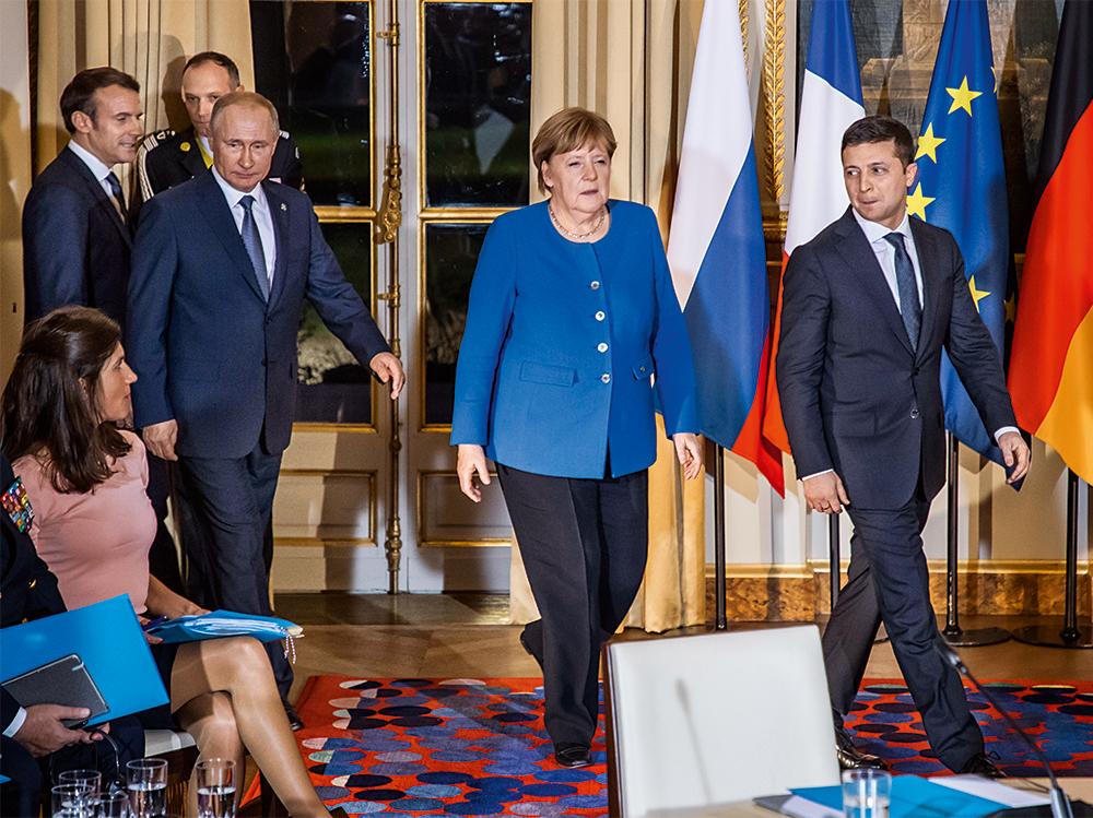 Великолепная четверка. Россия, Германия и Франция попытались навязать Ук...