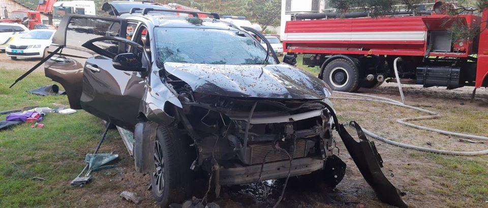 На Львовщине взорвался автомобиль, погиб человек