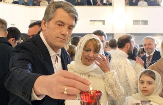 В штабе Ющенко сравнили президента с Христом