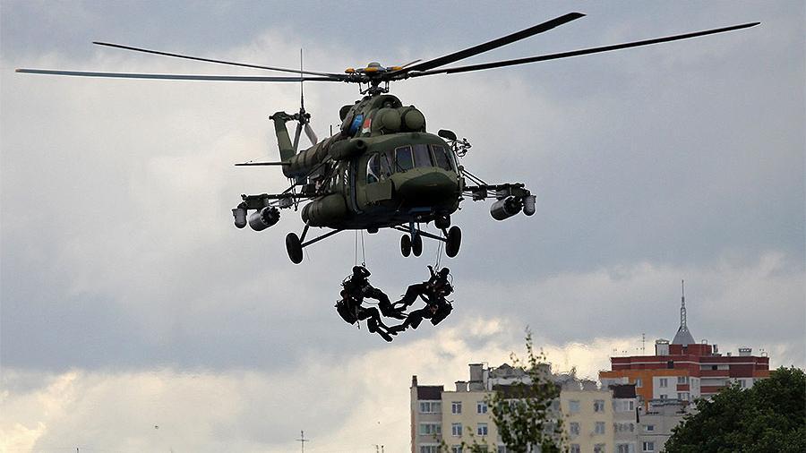 В Беларусь перебросили тульских десантников