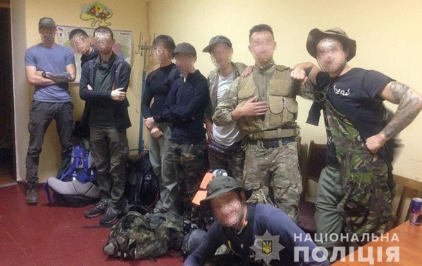 В Чернобыльской зоне поймали четверых  французских сталкеров
