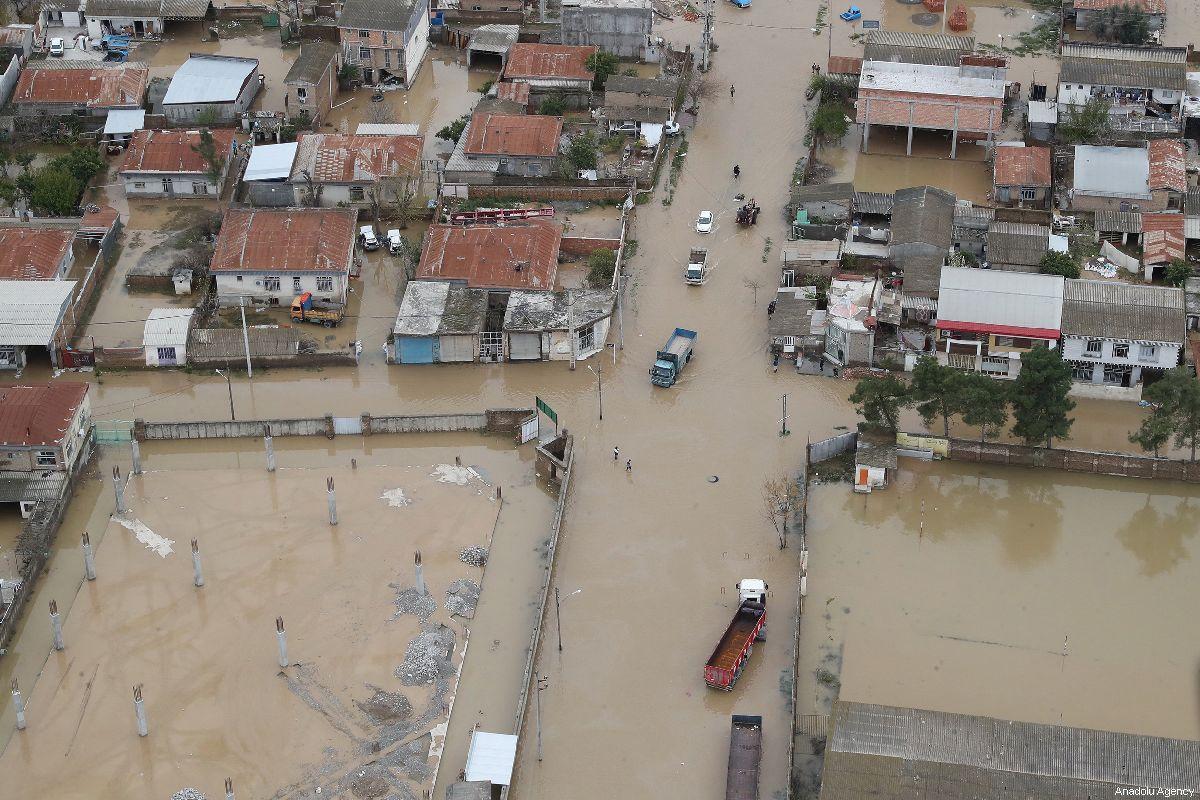 Количество жертв наводнения в Иране достигло 70