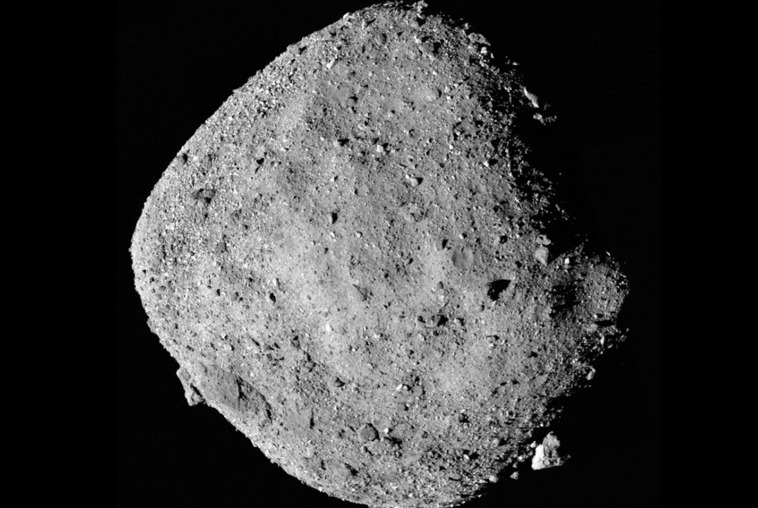 Зонд NASA сделал неожиданную находку в ядре астероида Бенну