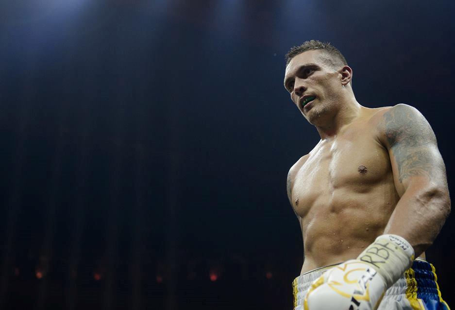 Усик отказался выходить в ринг с боксерами из РФ