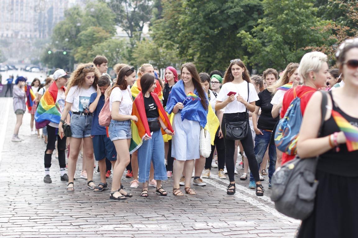 Посольство США поддержало Марш равенства