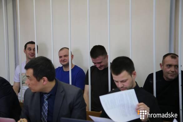 Суд в Москве продлил арест всем 24 военнопленным украинским морякам