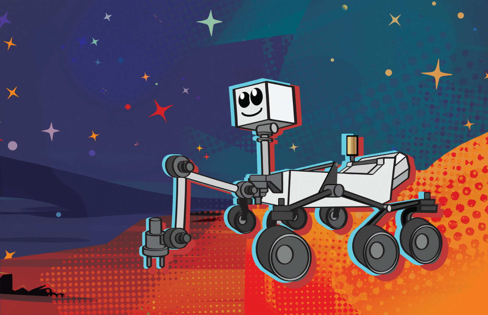 Школьники дадут имя новому марсоходу NASA