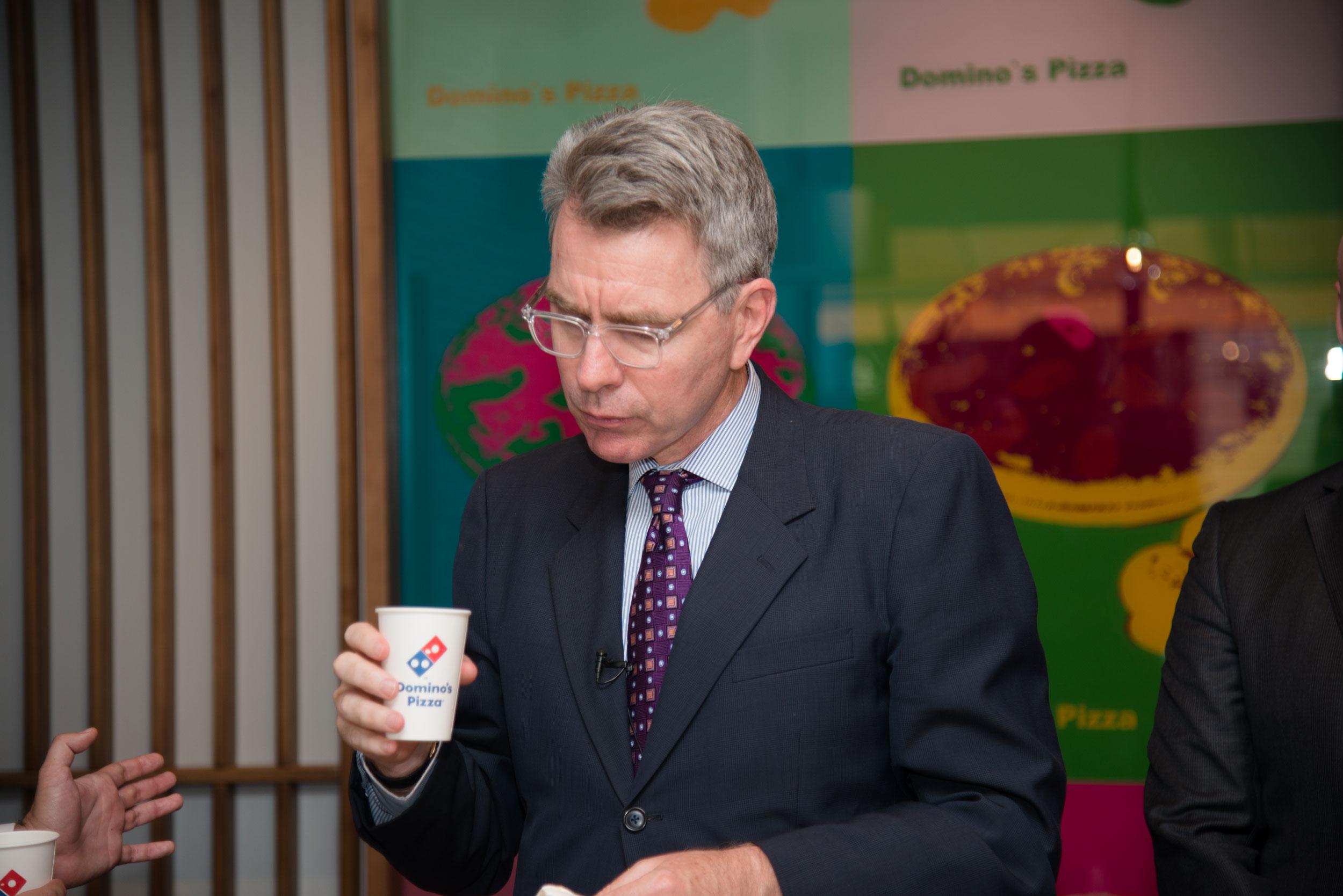Посол США в Украине провел встречу с генеральным директором Domino's Piz...