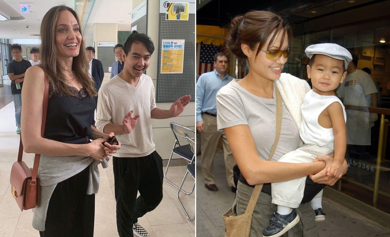 Чуть не расплакалась: Анджелина Джоли проводила старшего сына в универси...