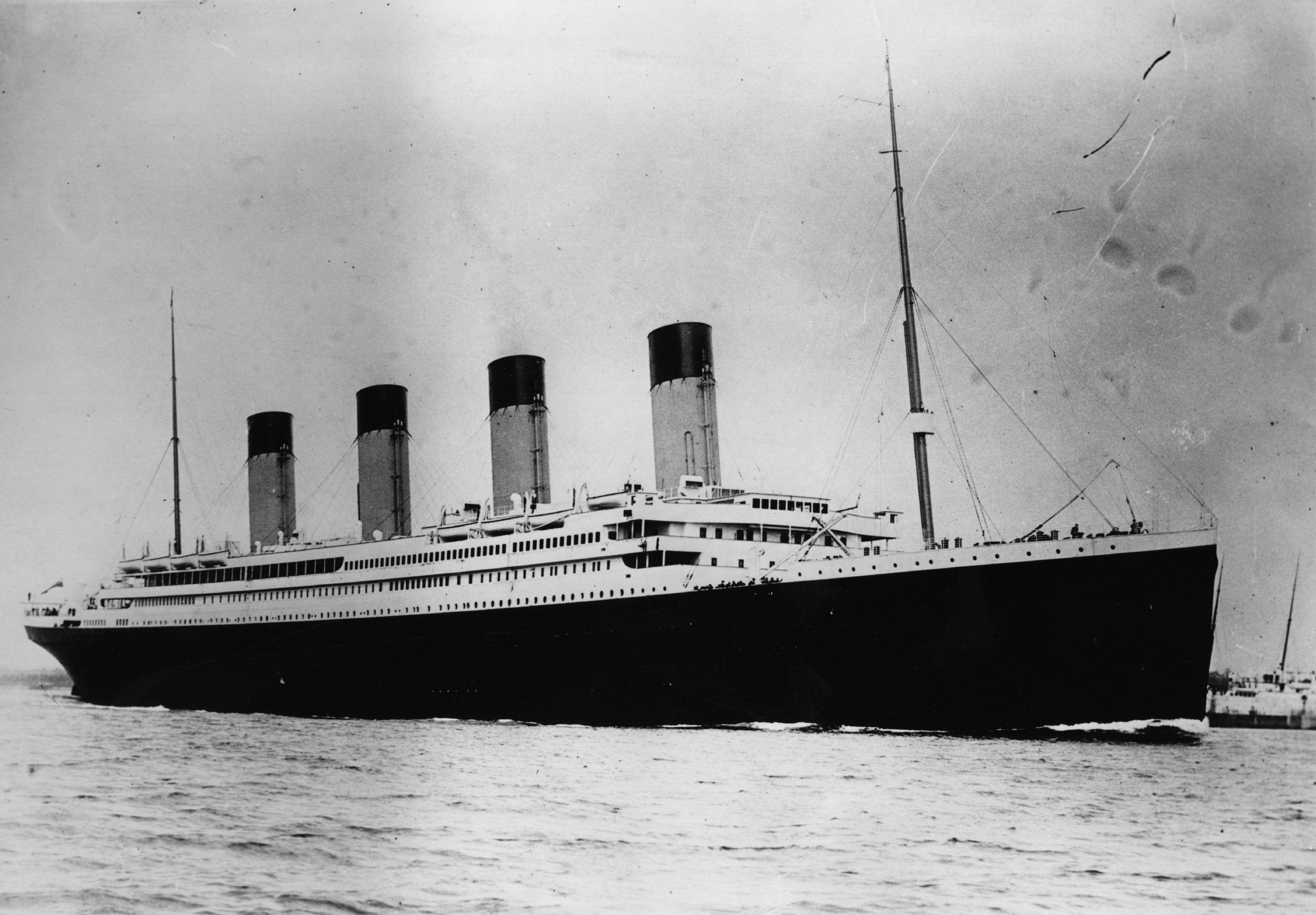 """Меню первого обеда на """"Титанике"""" продали за 140 тысяч долларов"""