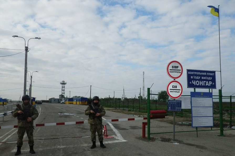 Российские оккупанты будут требовать при въезде в Крым ПЦР-тест
