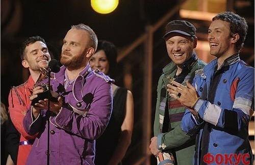 Coldplay станут хедлайнерами Гластонбери-2011