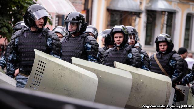 """В Симферополе полиция разогнала акцию """"Обманутый Крым"""""""