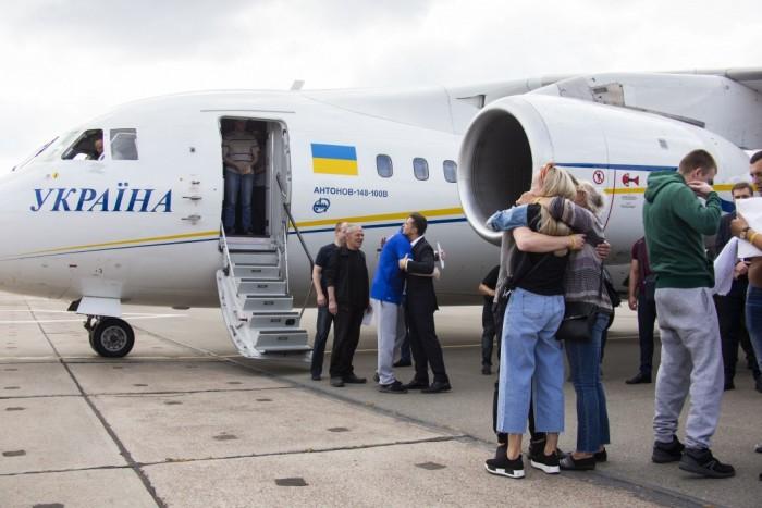 Украинские моряки, освобожденные из плена, дадут пресс-конференцию