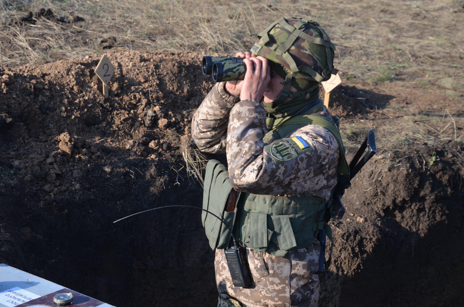 Сутки на Донбассе: противник использовал лазерное оружие, один воин полу...
