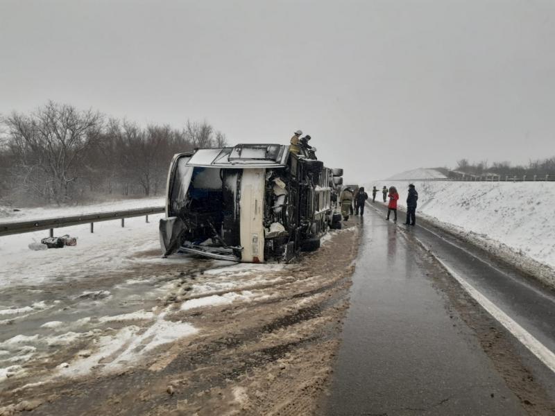 В результате ДТП в России пострадали восемь украинцев