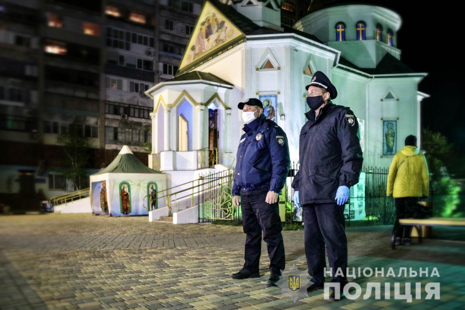 130 тысяч человек приняли участие в пасхальных богослужениях, – полиция
