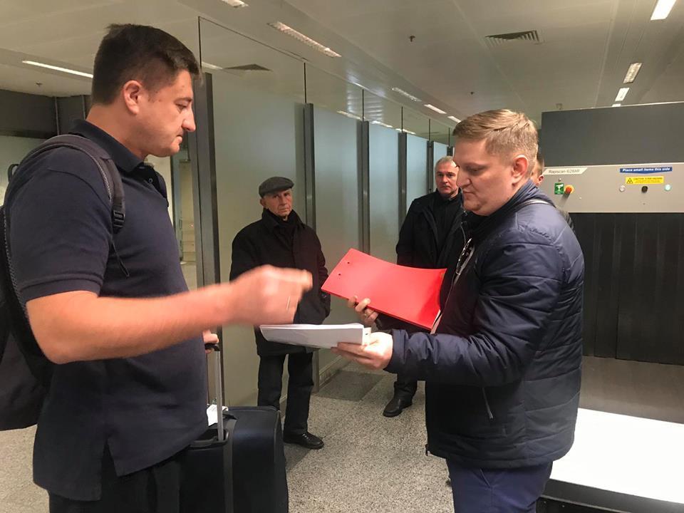 Обвинительный акт глава Госрезерва Украины получил в киевском аэропорту
