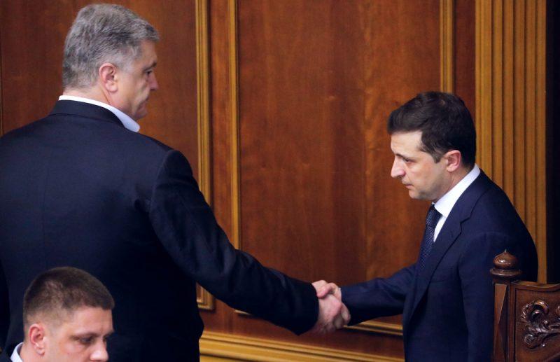 Порошенко посоветовал Зеленскому узнать у Януковича, чем заканчивается п...