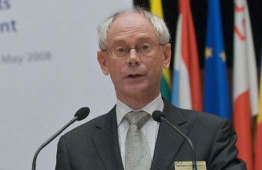Президентом ЕС стал премьер Бельгии ван Ромпей