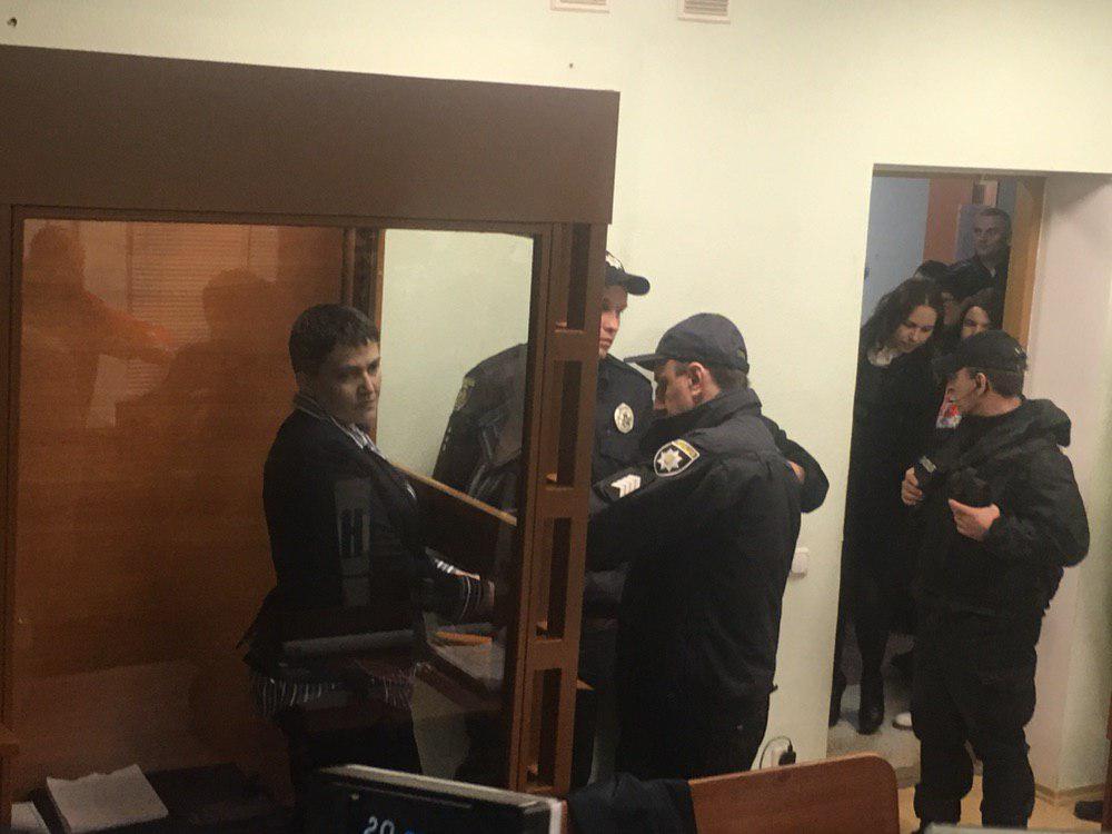 Савченко намерена вернуться к работе в Раде